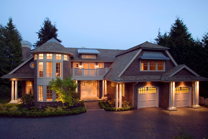 Luxury Home in Calgary - Evening