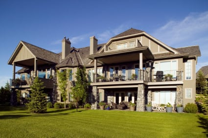 Luxury Home Exterior in Calgary