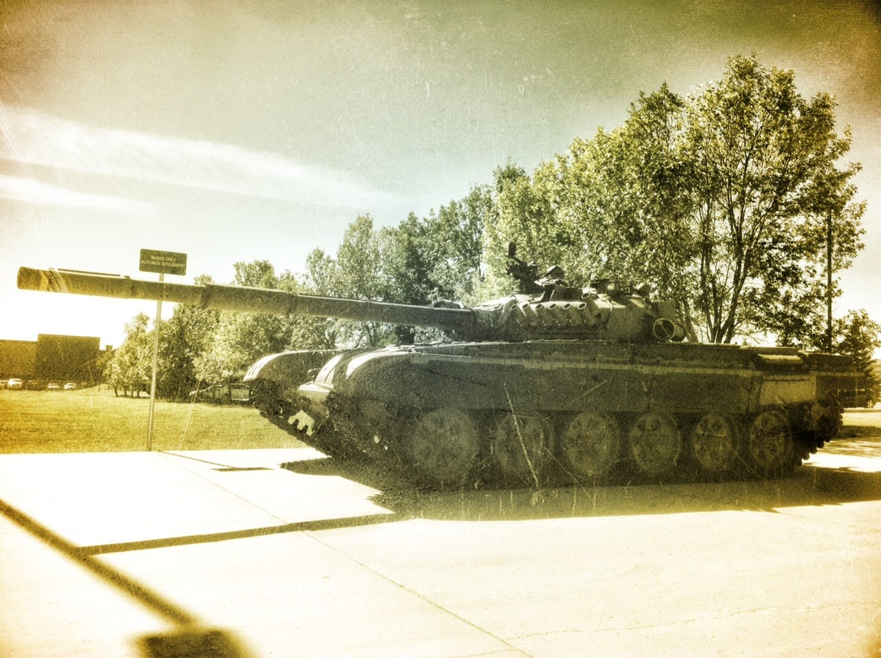 Tank-at-Military-Museums-in-Calgary