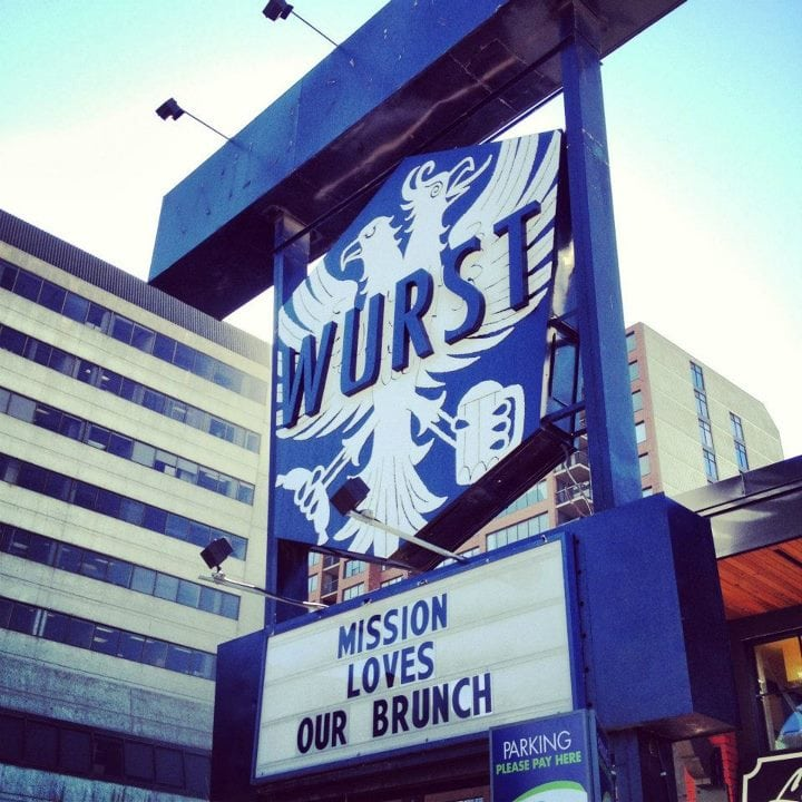 WURST Restaurant Beer Hall Calgary