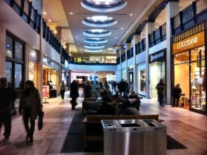 Interior at Calgary Chinook Centre Shopping Mall
