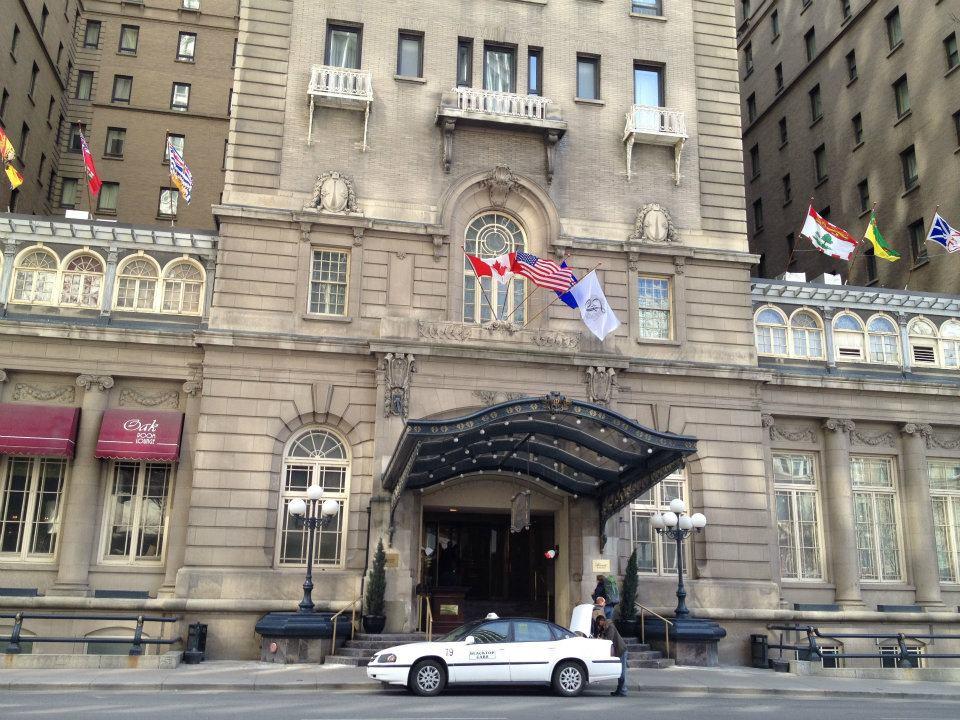 Fairmont Palliser Hotel Downtown Calgary landmark