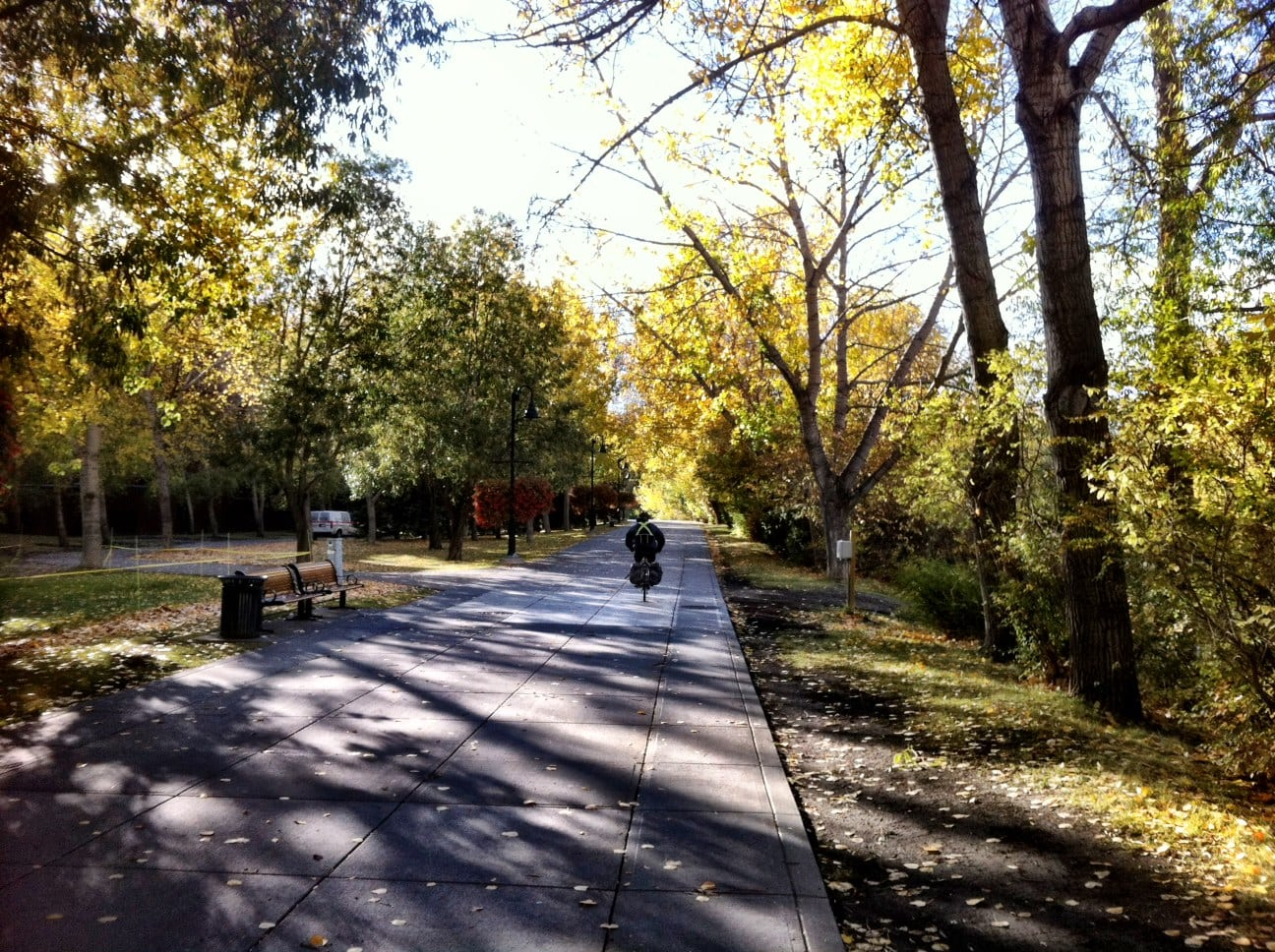 Calgary River Parks Pathways