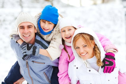 Winterize Your Calgary Home - Family in Winter