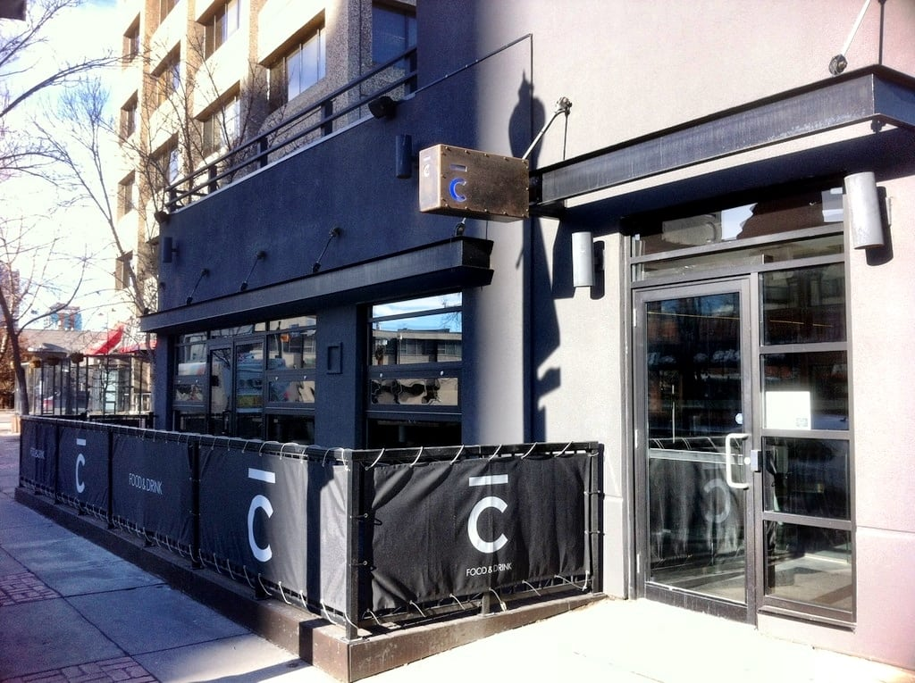 Bar C New Calgary Restaurant