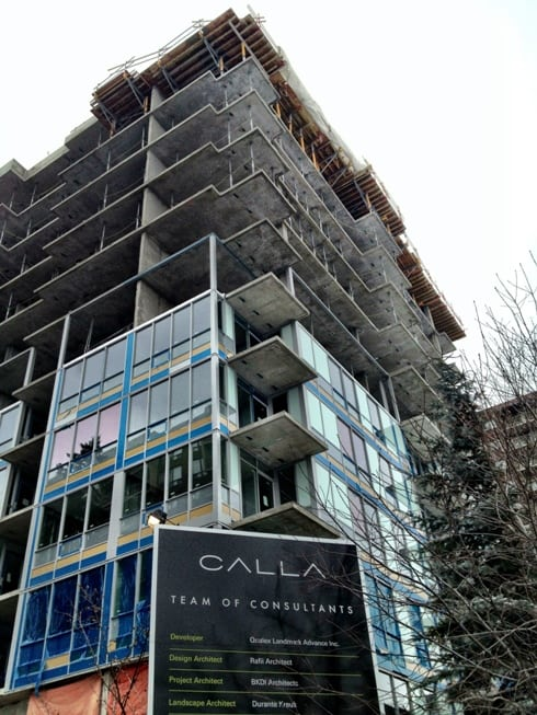Calla New Condos in Connaught Calgary