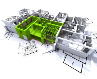 Condo Blueprint Floorplan