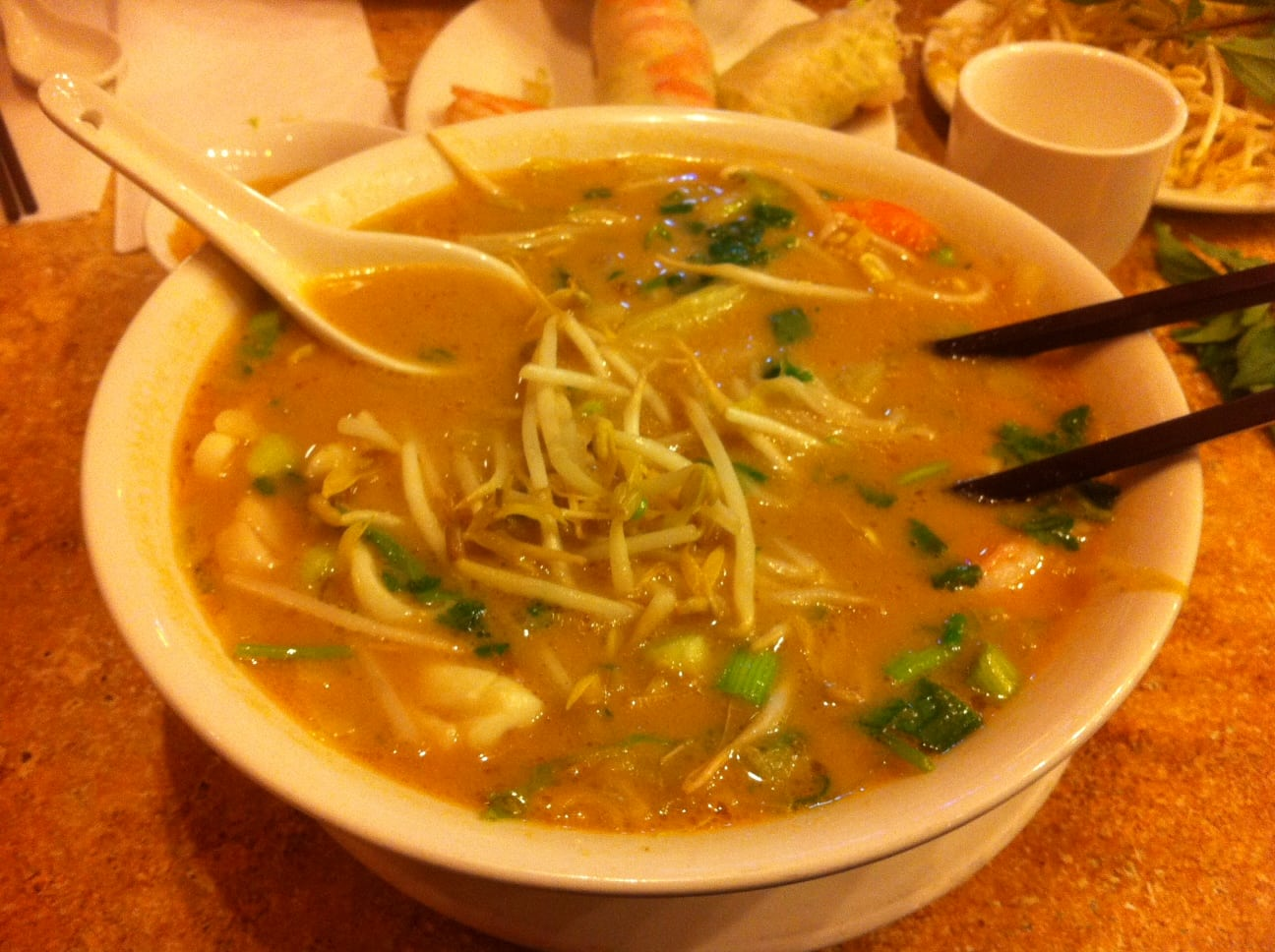 Golden Bell Saigon Calgary Pho Resaurant - Beef Noodle Soup