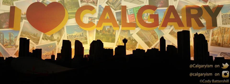 I love calgary calgaryism banner