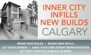 Calgary inner city homes and new builds in Calgary