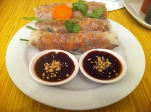 Lemongrass West Calgary Salad Rolls