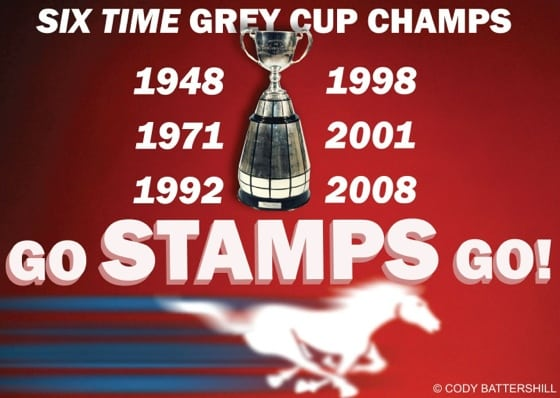 Calgary Stampeders Grey Cup history
