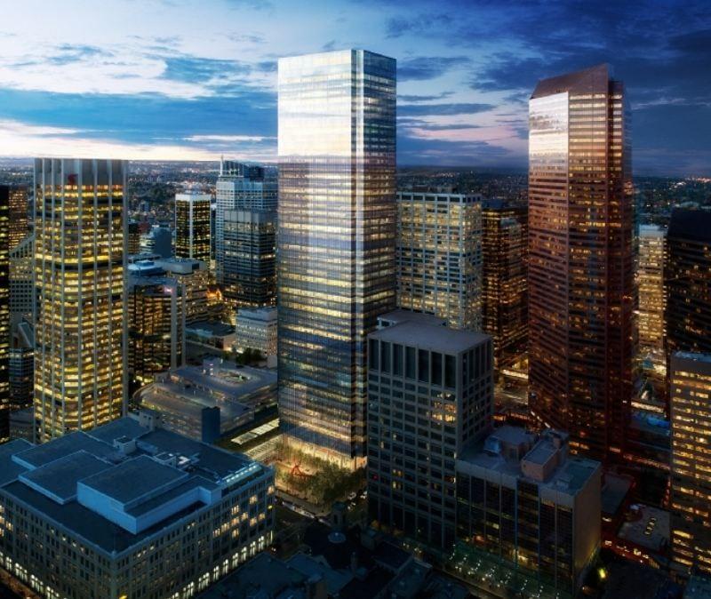 225 SIXTH New Downtown Calgary Skyscraper