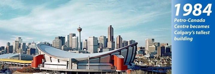Calgary Skyline History 1984