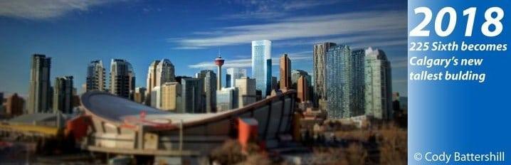 Calgary Skyline History 2018