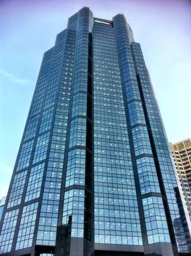 Canterra Tower Downtown Calgary Alberta