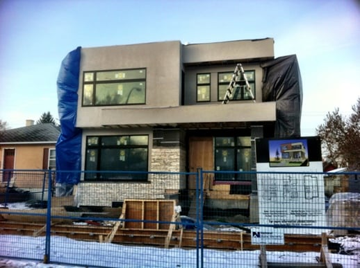 Hillhurst Calgary Infill Home Construction
