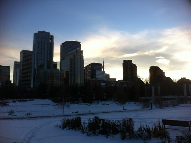 Best Calgary Winter Activities Prince's Island Park