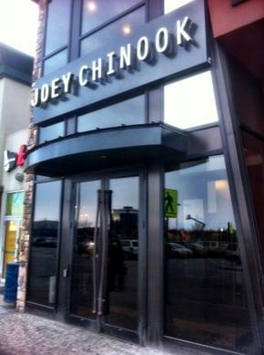 Joey Chinook Calgary Restaurant