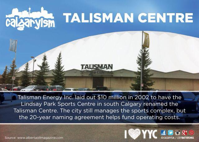 Talisman Recreational Centre Calgary, Alberta