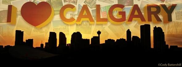 I love Calgary 9 Banner