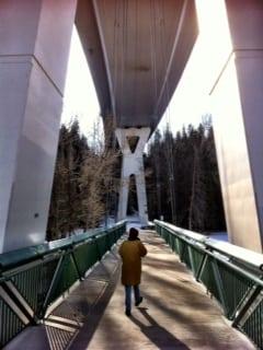 Stoney Trail Bridge Calgary Parks Bowness Park