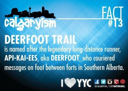 Deerfoot Trail Calgary - Calgaryism Fact 13
