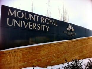 Mount Royal University Calgary
