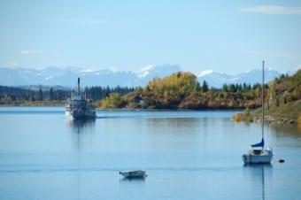 Calgary Landmarks Glenmore Reservoir