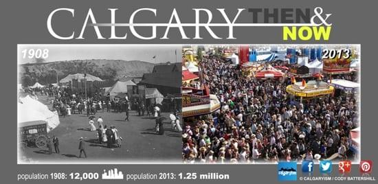 History of Calgary 1908 2012