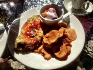 Omelette Infusion Contemporary Cuisine Bragg Creek Alberta
