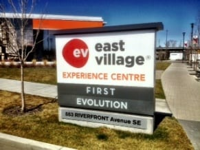 RiverHouse East Village Calgary Sales Centre