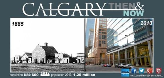 History of Calgary 1880's