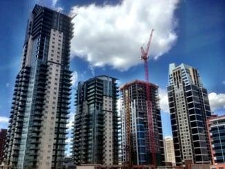 Sasso Vetro Alura Nuera Condos Victoria Park Condo Homes in Calgary