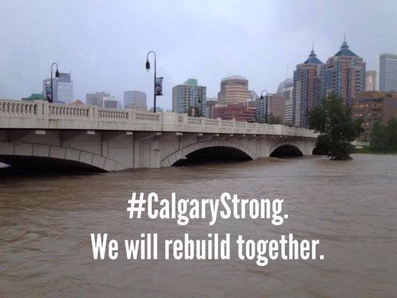 Calgary flood relief, shelter, evacuation