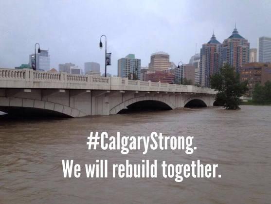 Calgary flood relief, shelter, evacuation