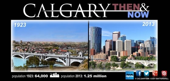 History of Calgary - Calgary Facts 1923
