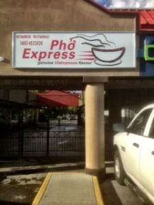 Pho Express Calgary Restaurant Mount Royal Richmond Area