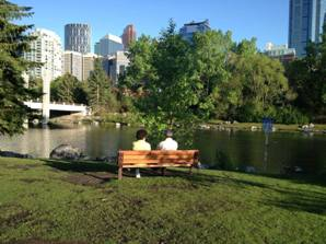 Calgary Tourist Attractions Princes Island Park