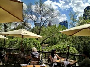 River Cafe Calgary Patio
