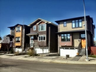 Calgary Inner City Homes Infills