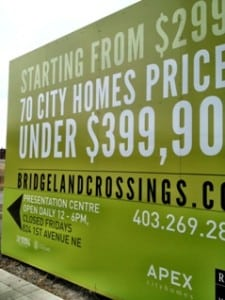 Bridgeland Crossings New Condos Calgary
