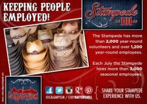 Calgary Stampede Keeping People Employed