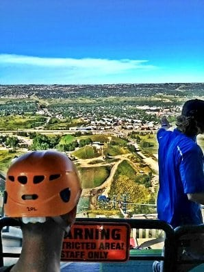 Calgary Activities Ziplining Canada Olympic Park