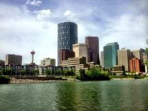 Best Calgary summer activities - downtown Calgary pathways