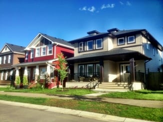 Evanston Calgary Community New Homes