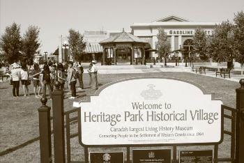 Heritage Park Calgary Alberta