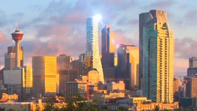 TELUS Sky Tower Downtown Calgary