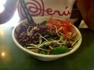 The Coup Best Vegan Restaurant - Greenhouse Salad
