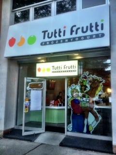 Connaught Calgary Tutti Frutti Frozen Yogurt